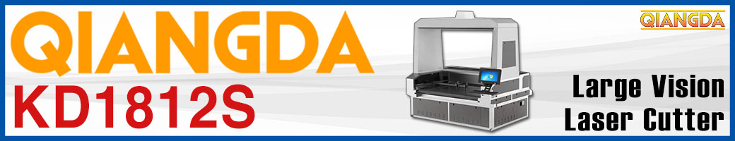 QiangDa Large Vision Laser Cutter